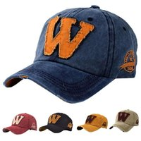 Wholesale Women Men Snapback Hats Letter W Hockey Baseball Caps Sun Hat Hip Hop Hats C00102 SPD
