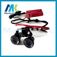 Cheap Good Quality 3.5X time Dental Surgical Binocular Loupes Magnifier Glasses 100% original surgical optical glass without LED light