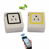 Wholesale New WiFi Remote Control Wireless Smart Sockets Plug Repeater EU UK US AU Socket Plug Home Automation for iphone Ipad Android Smartphones