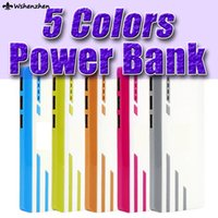 Wholesale colorful universal power bank charge mah power bank with with flashlight backup battery for cell phone ipad