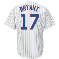Wholesale Cheap Baseball Jerseys Chicago Cubs Kris Bryant White Home Team Jersey Shirts Authentic Baseball Cool Base Jerseys Mens Baseball Shirts