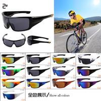 Wholesale Fashion Men Sunglasses Fashion Biking Sports Sunglasses Mens Sports Eyewear Fashion Driving Sunglasses Colors AAAA