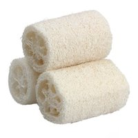 Wholesale THGS Natural Loofah Bath Body Shower Sponge Scrubber