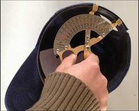 Wholesale Professional Hat cap ruler hat measurement tools factory price