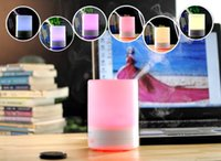 Wholesale DHL New Sale Protable Colorful Ultrasonic Ultrasonic Aroma Diffuser ML Aromatherapy Air Purifier Fragrance Diffuser