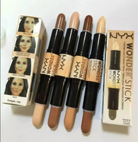 anti double - High quality lowest price HOT Makeup NYX wonder double color concealer STICK