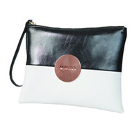 Wholesale MIMCO Medium Pouch White Black MIMCO Patent Leather Wallet Handbag For Women Clutch Bags MIMCO Purse