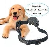 Wholesale Stop Barking Training Collar Auto Vibration no bark collar Pet Dog J00003 OST