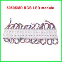 Wholesale 12V SMD RGB LED module light led modules color changeable decoration light led backlight channel letter advertising