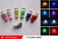 auto licenses - T10 Led Smd Licence Lamp Car Side Light Auto Wedge Light Bulb LED Clearance Lights Smd