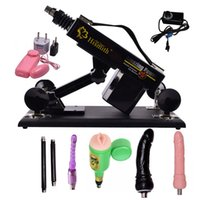 Sex Machine dildo machine - Luxury Automatic Sex Machine Gun Set for Men and Women Fucking Machine with Male Masturbation Cup and Big Dildo Sex Toys