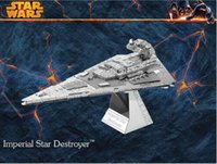 plane model - Star Wars X Wing Fighter puzzle toys mini metal Model Building Kits puzzle D Scale Models DIY Metallic he Millennium Falcon