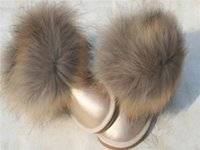 big boots girl - Fashion Children Winter Boots Genuine leather Big fur Thick Warm Shoes Baby Girls Boys Snow Boots Shoes