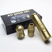 Metal av setting - Vaporizer AV Mod Set Able V2 Starter Kit Come with Able Mod AV Torpedo Cap Combo RDA Atomizer Avid Style Battery Tube DHL free