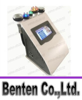 Wholesale 5 IN Ultrasonic Cavitation Radio Frequency Vacuum RF Lipo Laser Slimming Machine Weight Loss LLFA11