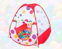 Kids Play Tents Niños de interior al aire libre Pop Up tienda de campaña Baby Game jardín plegable portátil tienda de juguetes