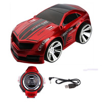 Wholesale Rechargeable Voice Control Car Voice Command by Smart Watch Creative Voice activated Remote Control RC Car Dazzling Headlights and Cool Brak