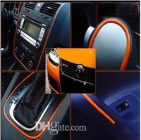 Wholesale Multi Color Flexible Trim For Car Interior Exterior Moulding Strip Decoration Car Accessories meter