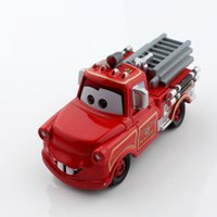Cheap Disny original mini kids tomica tomy cars cute mater tow truck fire fighting truck alloy metal race car diecast models toys for boys