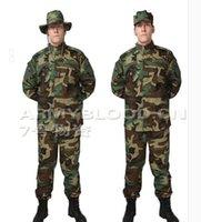 bdu pants large - US exports large jungle camouflage training uniform jacket pants suits camouflage BDU ACU edition version