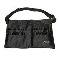 artist bags - Protable Cosmetic Makeup Brush PVC Apron Bag Artist Belt Strap Professional Make up Bag Holder H9884