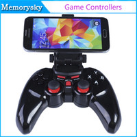 Inalámbrica Bluetooth dobe TI-465 Game Pad palanca de mando con el sostenedor de la abrazadera 6 pulgadas para Android ios Smart Phone / Tablet PC móvil