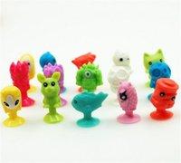 Wholesale 80 Multi style PVCToys Ickee Stikeez Puppet Mini Monster Doll LIDL NEU Die Stikeez Aus Dem Weltall Komplett Satz Mit Allen D770