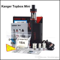 Wholesale 100 Authentic Kanger Topbox Mini Starter kit kangertech W Subox Mini Pro Temperature Control Kit VS Topbox Nano