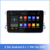 car mp4 player - Quad Core Din Android VW Car DVD GPS Navi GOLF Polo Bora JETTA PASSAT Tiguan