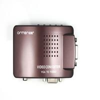 av hdmi switch - VGA To Video Universal PC VGA to TV AV RCA Signal Adapter Converter Video Switch Box Supports NTSC PAL system