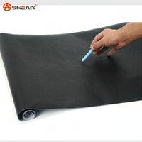 Wholesale 45x200cm Chalkboard Blackboard Stickers Removable Vinyl Draw Erasable Blackboard Learning Multifunction Office