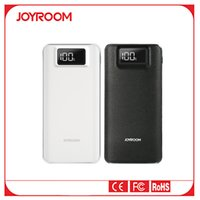 Wholesale Joyroom Double USB Power Bank for Universal Mobile Phone Portable with LED mAh External Battery with LCD Screen