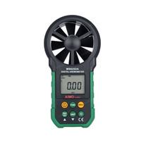 air flow volume - MASTECH MS6252A Handheld Digital Anemometer Wind Speed Meter Air Flow Tester Air Volume Measure