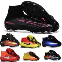 army shoes for kids - Magista Obra Cheap football Soccer Shoes Botas Kids For Men Mercurial Superfly FG Football Boots CR7 Mens Soccer Cleats Boots