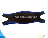 Wholesale 10 pc per bag Anti Snore stop Chin Strap Care Sleep Stopper Snoring Belt Jaw Supporter Apnea Men Women help Sleeping Products
