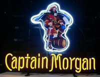 Wholesale CAPTAIN MORGAN Glasss Neon Beer Signs Light New