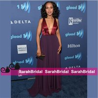 apple washington - Kerry Washington Celebrity Fashion Dresses for Special Social Occasion Women Banquet Dinner Party Evening Gowns Sale Cheap Formal Wear