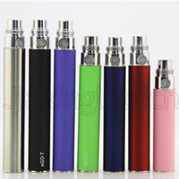 Wholesale 5pcs E Cigarette Ego Battery For Thread Ce4 Ce5 Mt3 Atomizer Vaporizer mah Multicolour Ego T Batteries