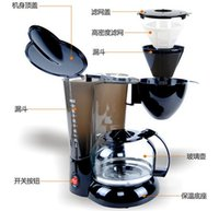Wholesale CM1005 American household fully automatic drip coffee machine tea machine thermal coffee pot machine insulation coffee maker