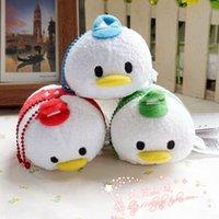 baby huey - 3 quot cm Tsum Tsum Donald Duck s nephews Louie Huey Dewey TSUM Plush doll mini baby Toy for Christmas gift