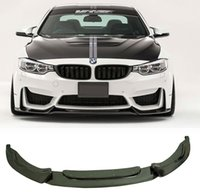 Wholesale Vors Style Real Carbon Fiber Front Lip Splitter Spoiler F80 M3 F82 M4 Fit For BMW B265