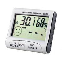 Wholesale New LCD Digital Thermometer Hygrometer Humidity Temperature Meter Indoor Outdoor Use