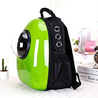 plastic bag carrier - puppy dog cat Space Capsule Shaped Breathable Backpack pet Cat Carrier backpack pet dog Outdoor Travel portable Package cat bags