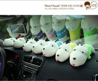 Wholesale Cartoon long mouth dog bamboo charcoal packageCar home in addition to flavor decoration