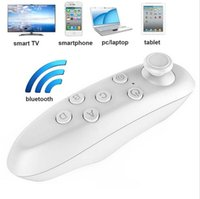 Wholesale VR BOX Mini Self Timer Smart Phone Universal Wireless Bluetooth Compiant Remote Game Control Controller for IOS Android Pc in retail package