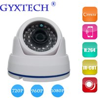 Cubierta infrarroja del ABS de la cámara de la bóveda del IP de la visión nocturna de la lente 36LEDS del CCTV CMOS de la cámara de la red 1080P del IP de ONVIF 2.0 que envía libremente