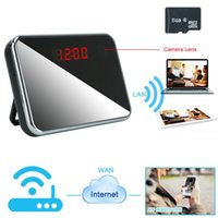 alarm iphone app - 1920x1080P HD Wifi Network R7 Spy Camera Alarm Clock Motion Activated Security DVR Support iPhone Android APP Remote Wide View