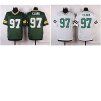 american clark - Men s American Football Jerseys Packers Kenny Clark Stitched Elite Jersey White Green Mix Order Drop Shipping Available