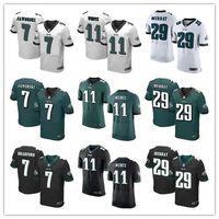 active eagle - Elite Men Philadelphia Football Jerseys Eagles DeMarco Murray Carson Wentz Dawkins White Green Black rugby shirts