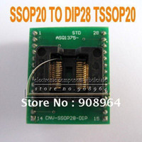 Wholesale SSOP20 to DIP28 TSSOP20 SSOP18 programmer IC adapter socket feet distance